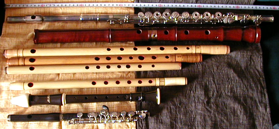 Flute types