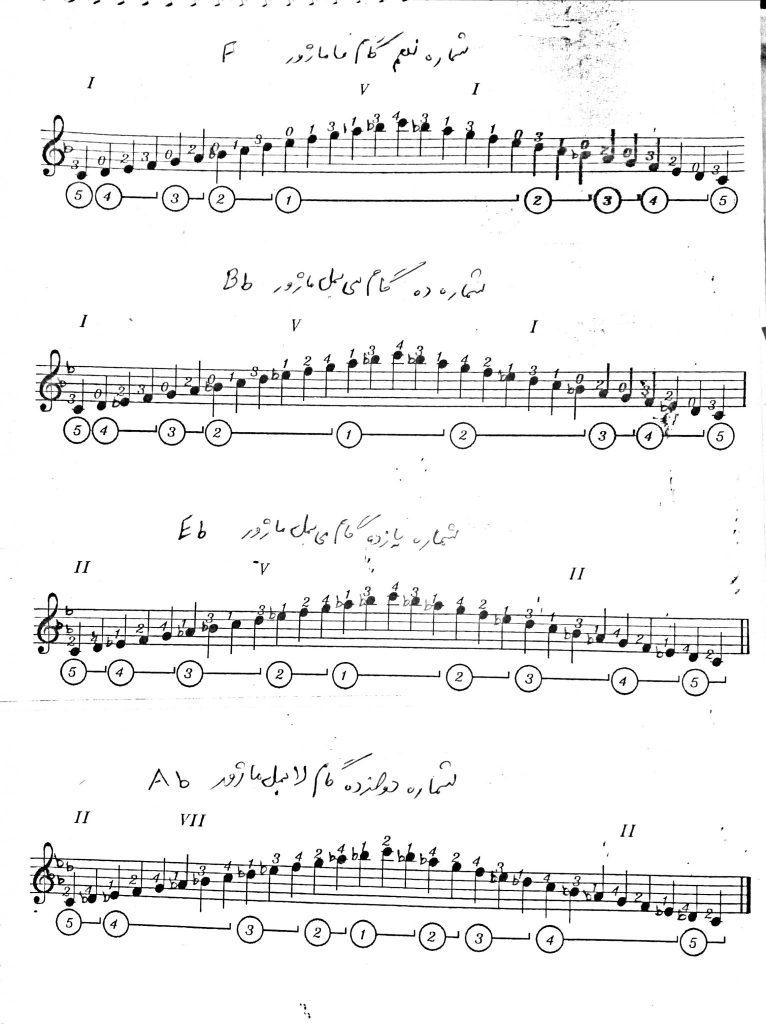 گام های نوازندگی شماره 2
