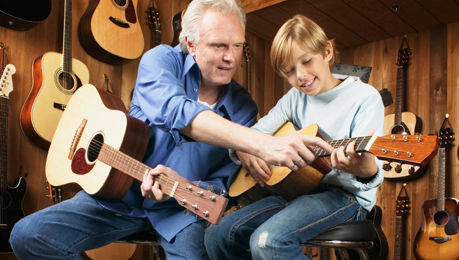 آموزش گیتار جلسه ی چهارم