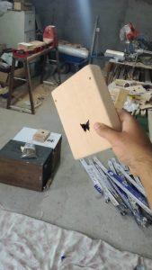 پرداخت چوب