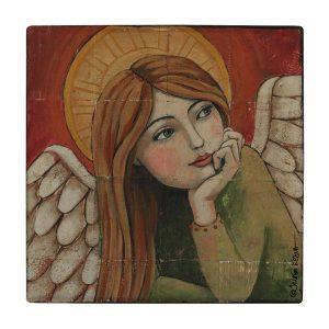 کاشی طرح فرشته